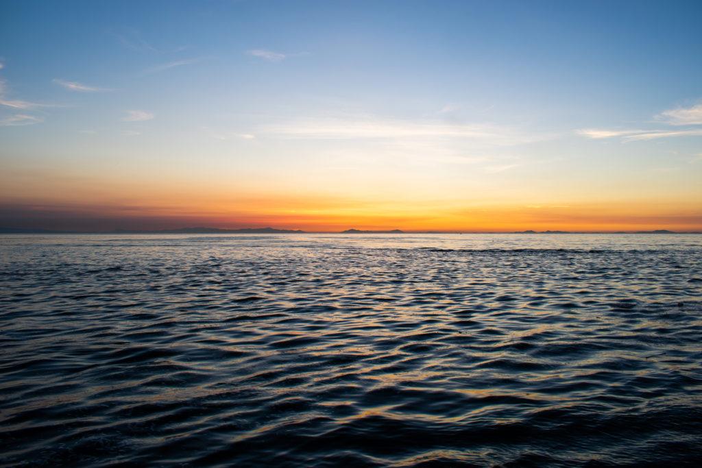 真玉海岸満潮