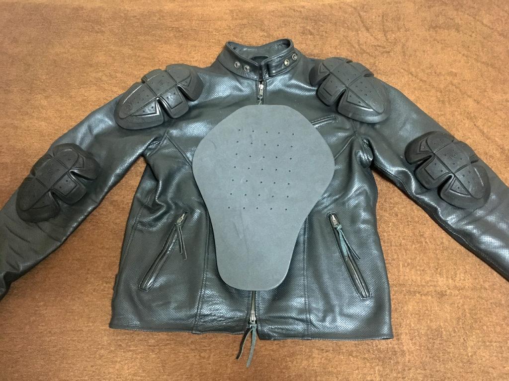 メッシュレザージャケットプロテクター01